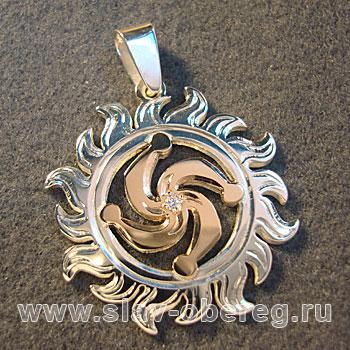 Символ Рода в Солнышке - Славянский оберег