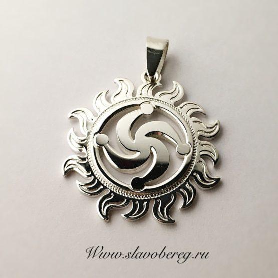 символ древнеславянского Бога Рода в Солнце