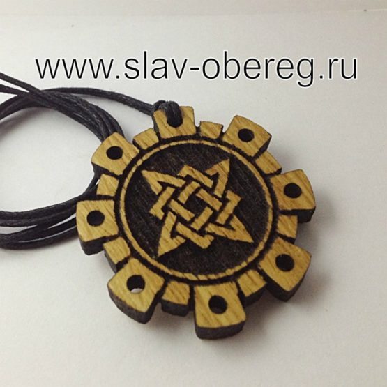 Звезда Руси из дерева