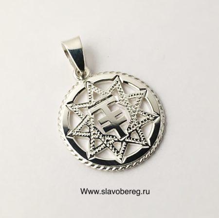 Чертог Лисы из серебра 925