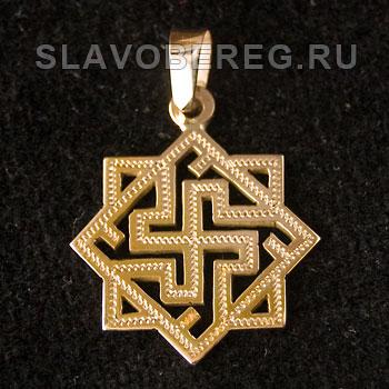 Валькирия Славянский оберег из золота