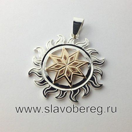 Алатырь в Солнышке - Славянский оберег