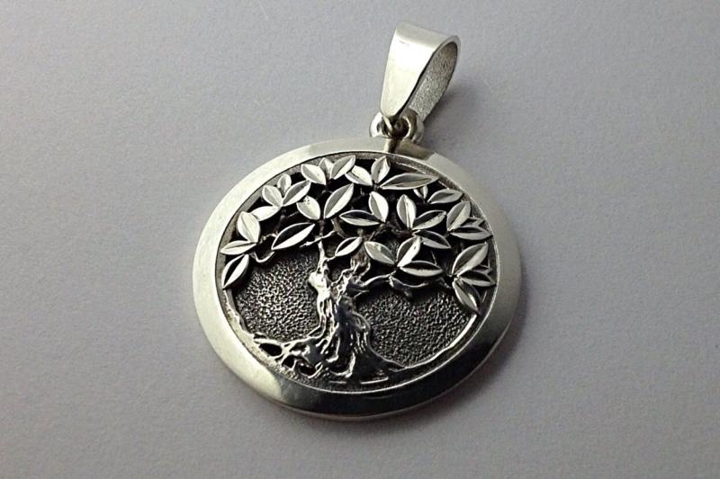 Древо Мироздания серебро