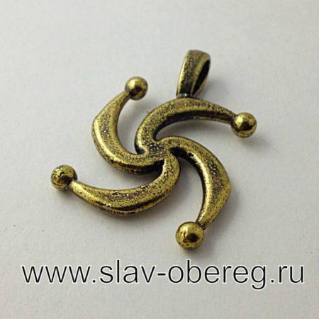 Символ Рода из бронзы
