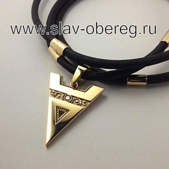Символ Велеса с бриллиантом