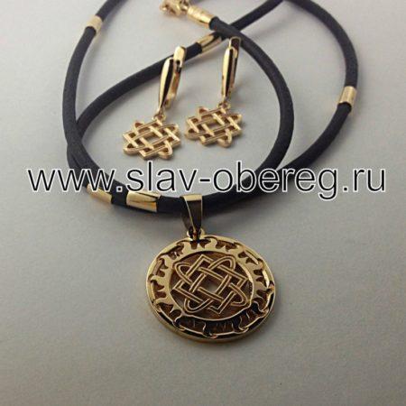 Серёжки Звезда Лады Богородицы