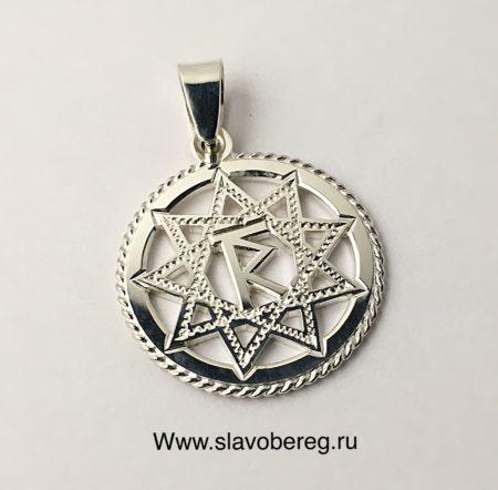 Чертог Раса из серебра 925