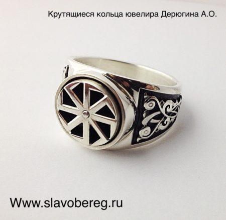 Крутящееся кольцо с коловратом