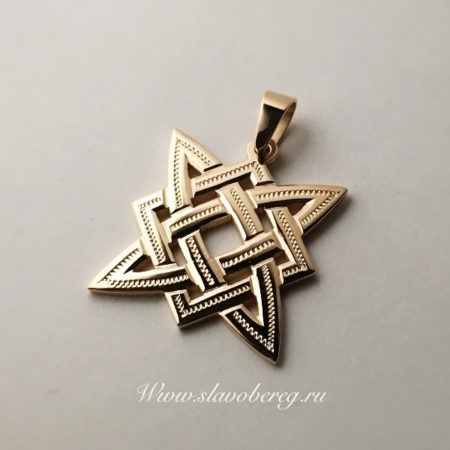 Звезда сварога из золота